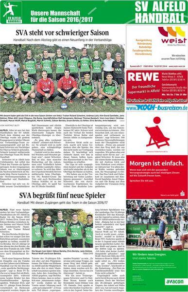 Sv Alfeld Handball